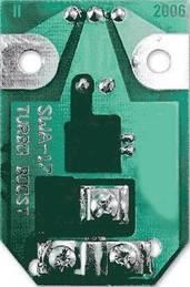 SWA усилок с демонтированными деталями